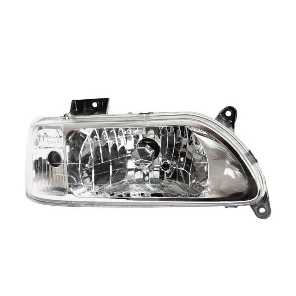 چراغ جلو راست خودرو فن آوران پرتو الوند مدل MPL27 موتوردار مناسب برای پراید 131