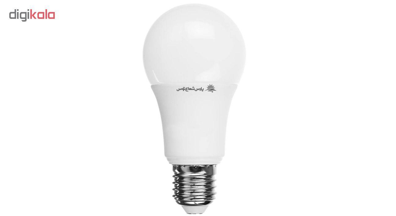 لامپ ال ای دی 12وات پارس شعاع توس پایه E27 بسته 10 عددی main 1 2
