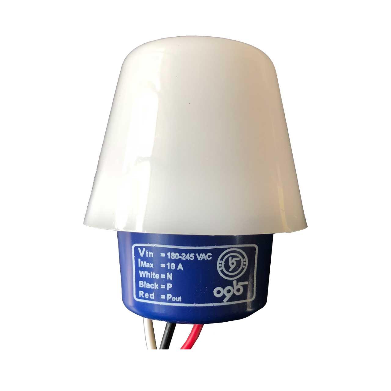 رله روشنایی فتوسل کاوه مدل KPH 210 کد 10A