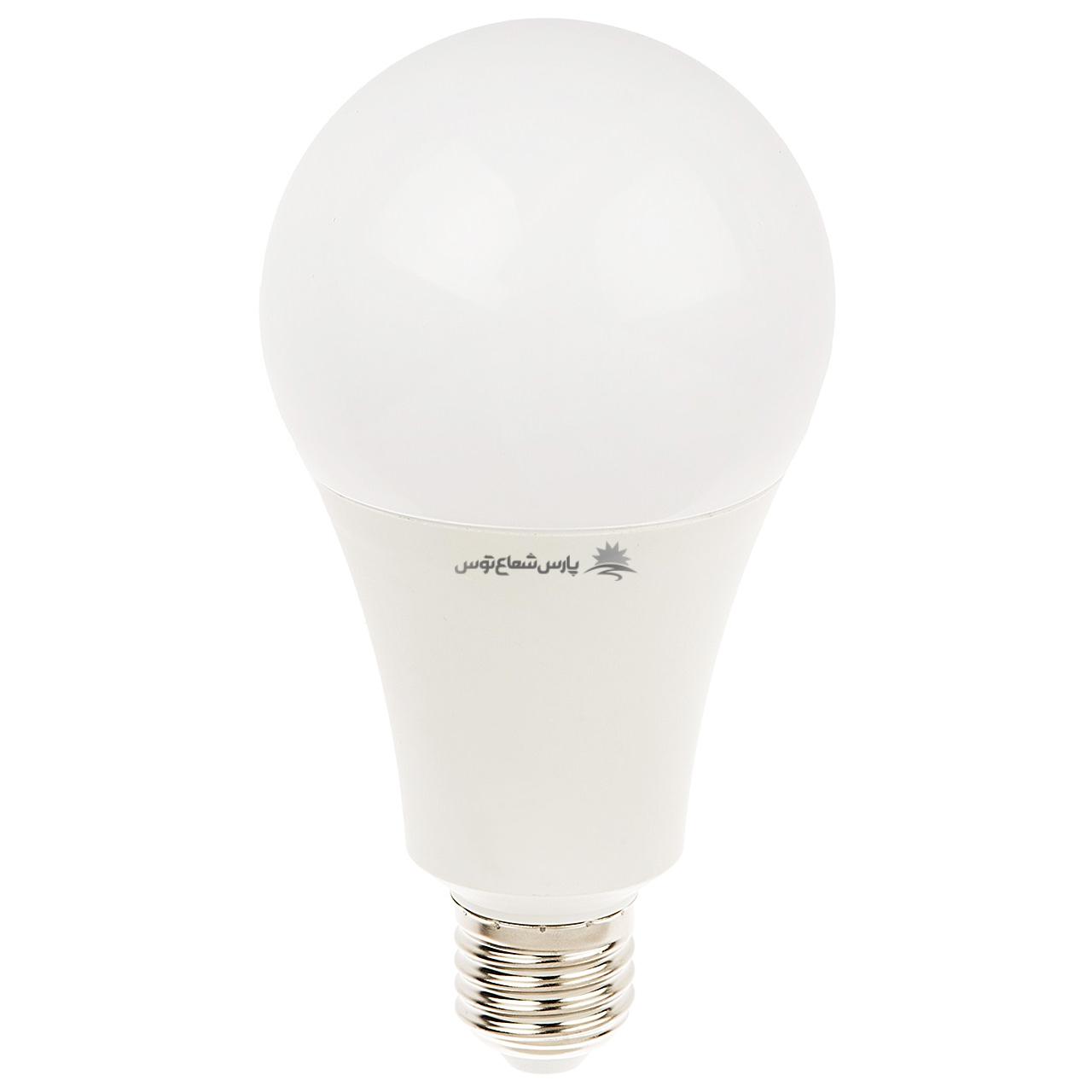 لامپ ال ای دی 20 وات پارس شعاع توس پایه E27