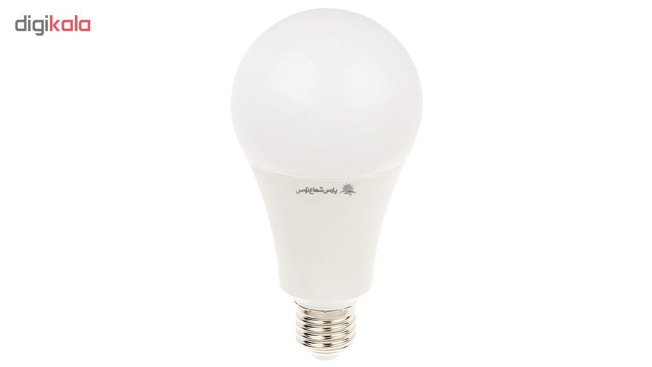 لامپ ال ای دی 20 وات پارس شعاع توس پایه E27 main 1 1