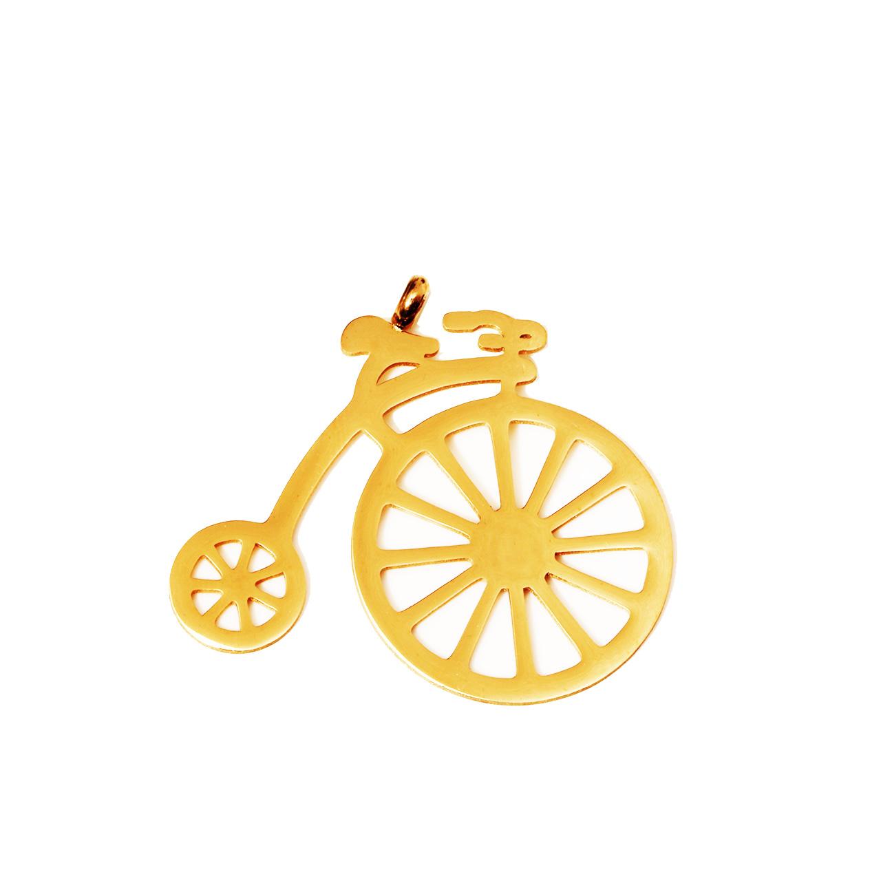 قیمت آویز گردنبند شیک کده طرح دوچرخه