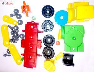 اسباب بازی ساختنی نیکو تویز مدل crane truck  Niko Toys Crane Truck Building