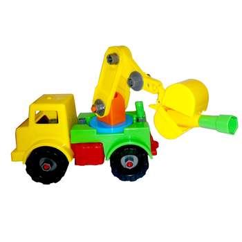 اسباب بازی ساختنی نیکو تویز مدل crane truck