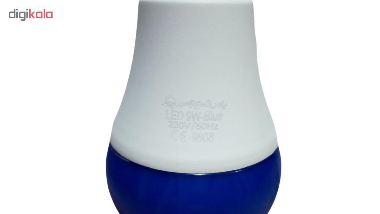 لامپ ال ای دی 9 وات پارس شعاع توس پایه E27 main 1 5