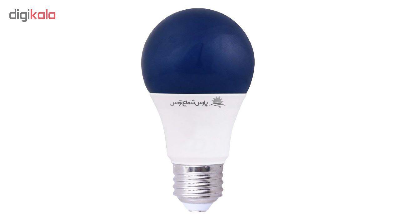 لامپ ال ای دی 9 وات پارس شعاع توس پایه E27 بسته 5 عددی main 1 5