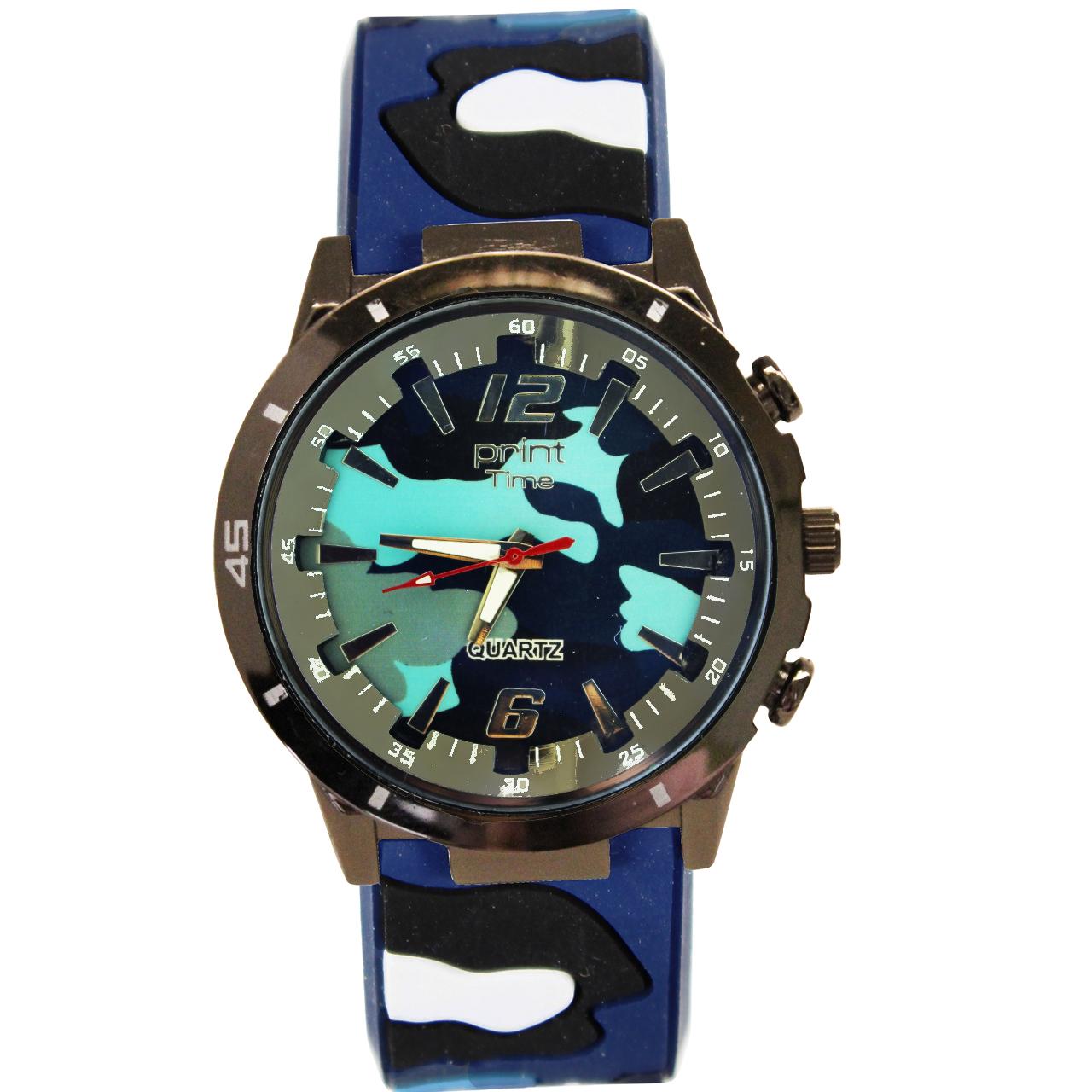 ساعت مچی عقربه ای پرینت تایم مدل P4-33