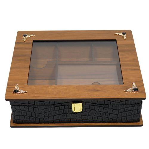 جعبه چایی کیسه ای و دمنوش لوکس باکس  کد LB52