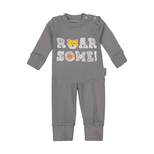 ست تی شرت و شلوار نوزادی پسرانه آدمک مدل 2171123-93