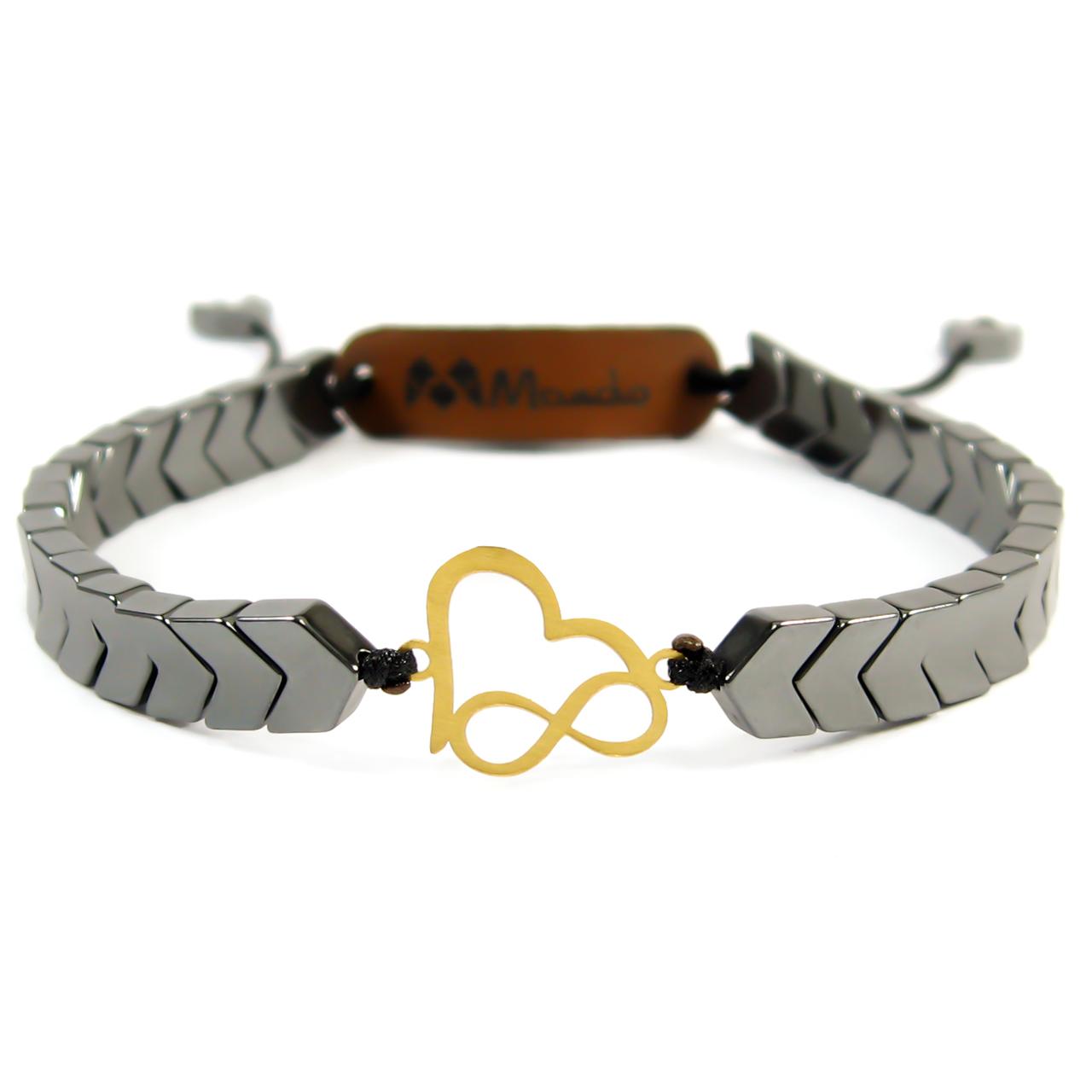 قیمت دستبند طلا 18عیار مانچو مدل bfg052