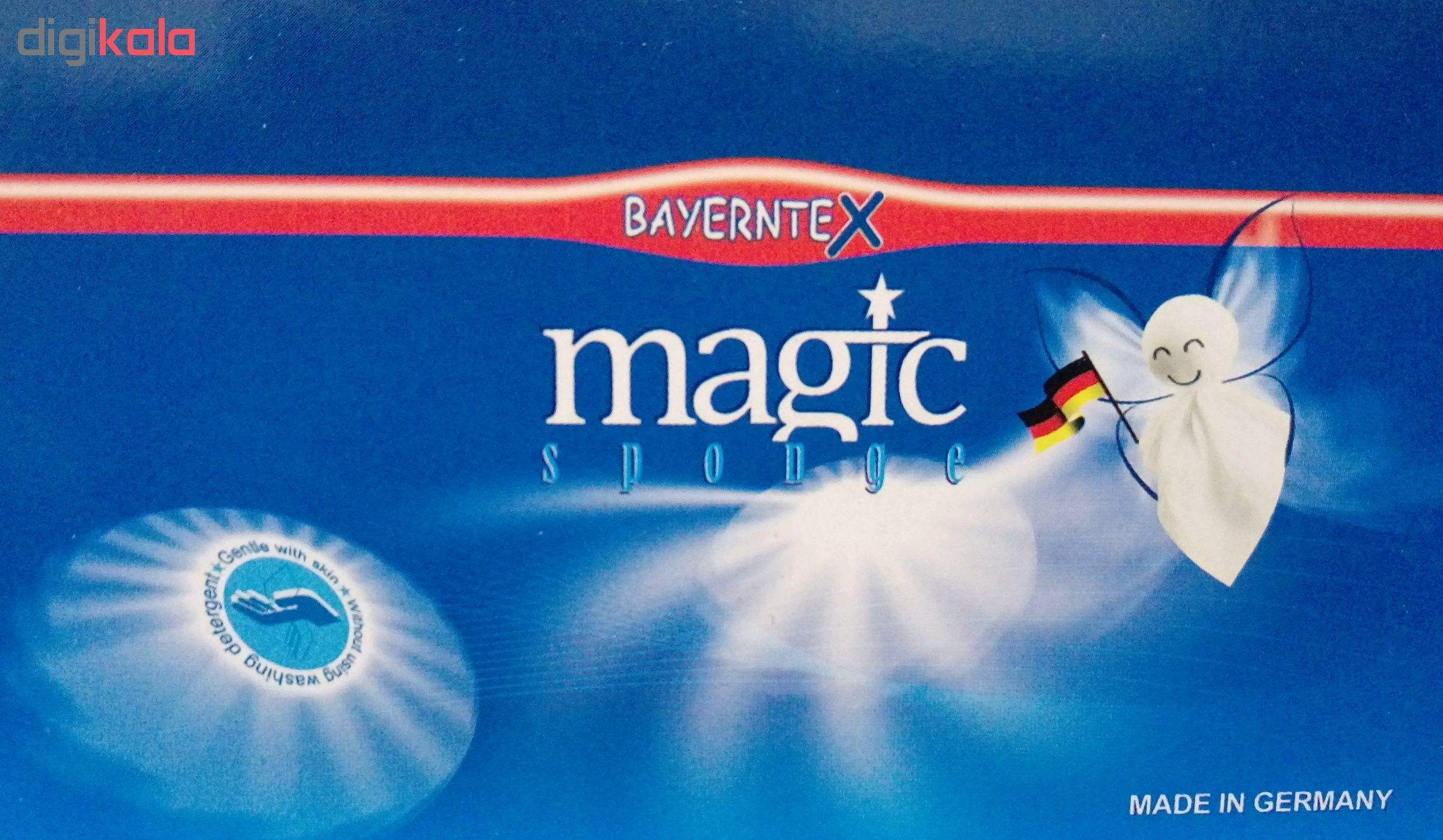 اسفنج لکه بر خودرو بایرنتکس مدل magic main 1 8