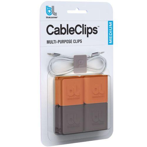 نگهدارنده کابل بلولانژ مدل Cableclip Medium بسته 4 عددی