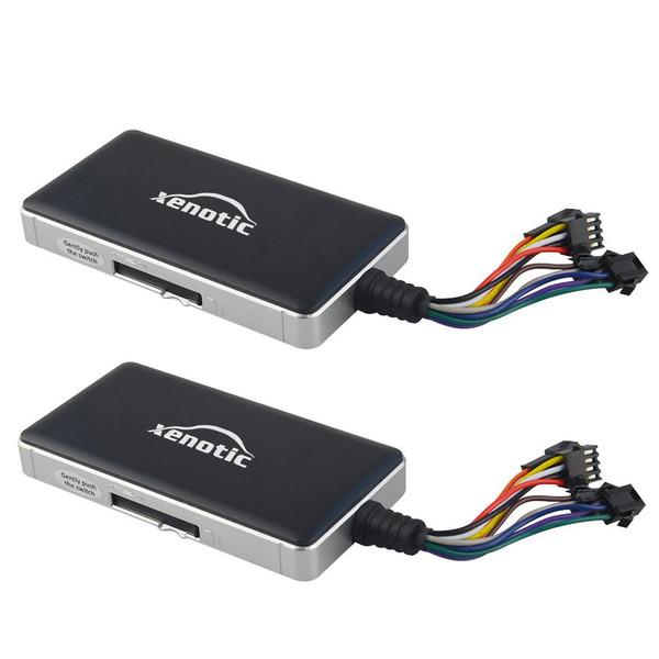 ردیاب ماهواره ای خودرو زنوتیک مدل Xenotic car tracker مجموعه 2 عددی