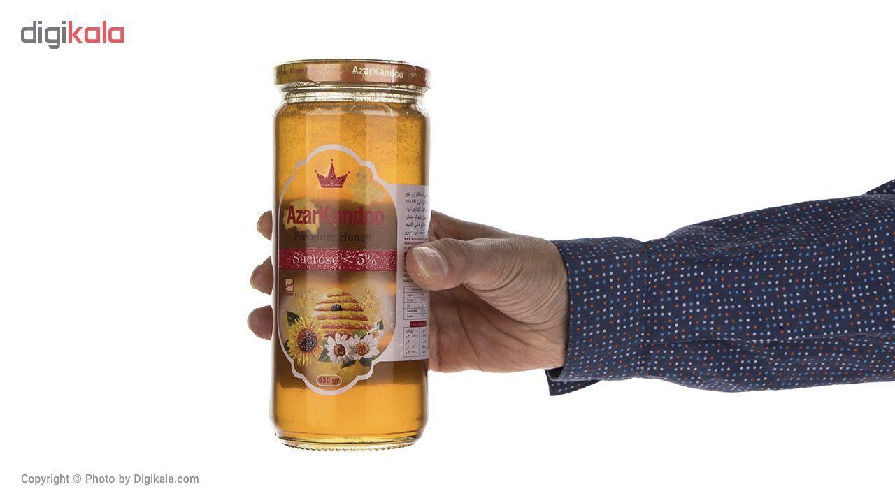 عسل طبیعی آذرکندو - 630 گرم main 1 2