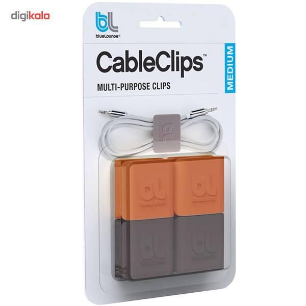 نگهدارنده کابل بلولانژ مدل Cableclip Medium بسته 4 عددی main 1 1