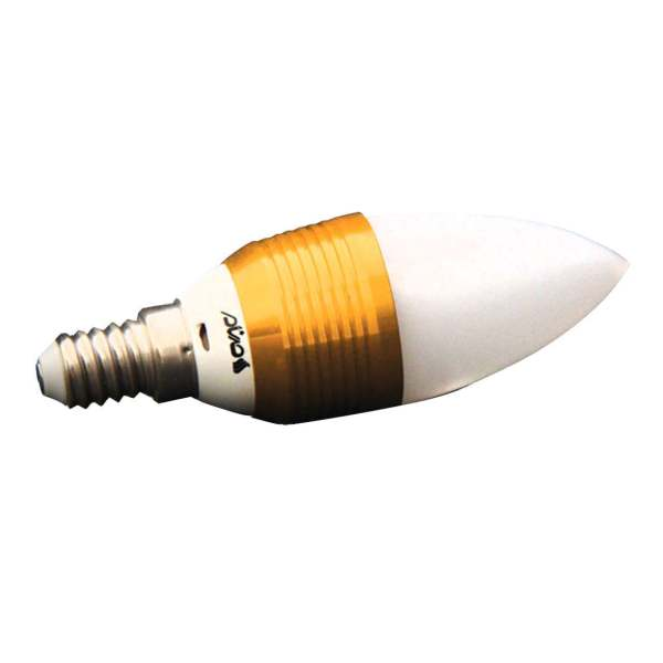 لامپ ال ای دی 3 وات صنام مدل شمعی معمولی پایه E14
