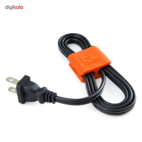 نگهدارنده کابل بلولانژ مدل Cableclip Medium بسته 4 عددی main 1 2