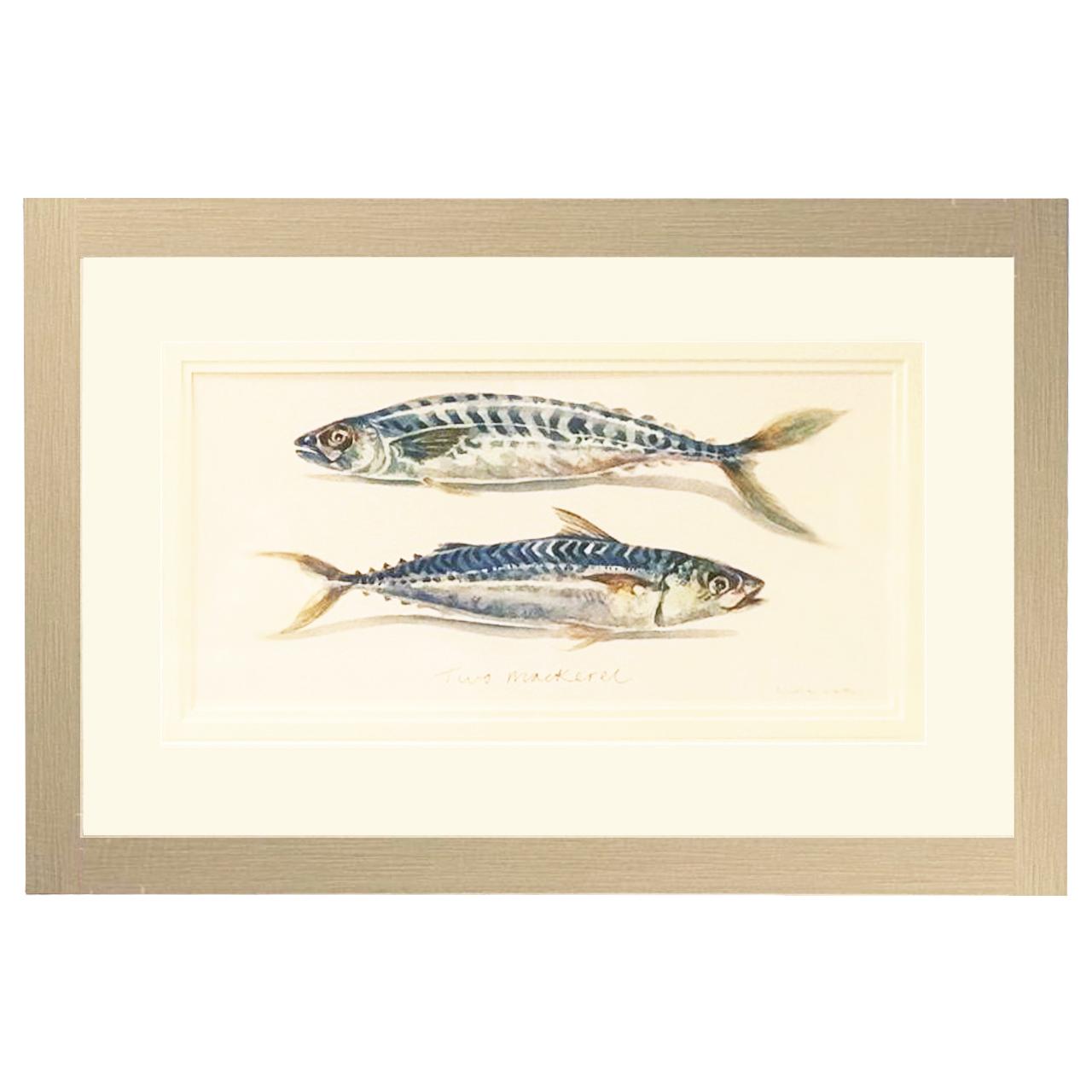 تابلو آرت مارکتینگ مدل Two Mackerel