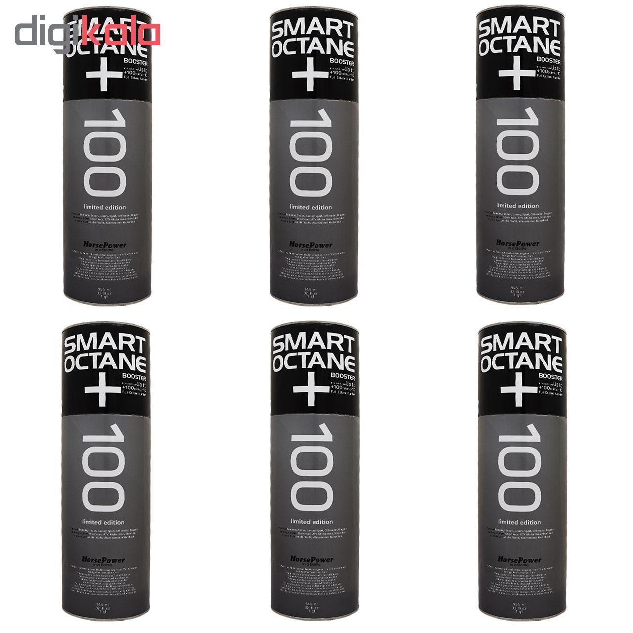مکمل بنزین اکتان بوستر اسمارت مدل Smart Octane Booster 100013 حجم 1 لیتر بسته 6 عددی main 1 1