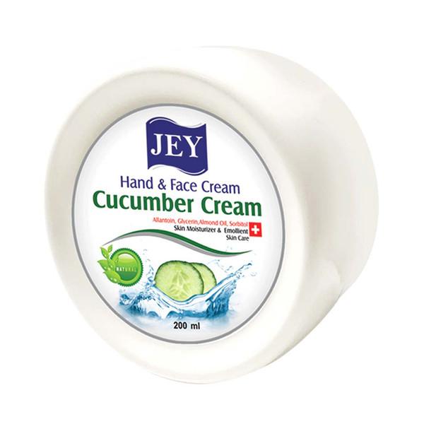 کرم مرطوب کننده جی مدل cucumber cream حجم 200 میلی لیتر