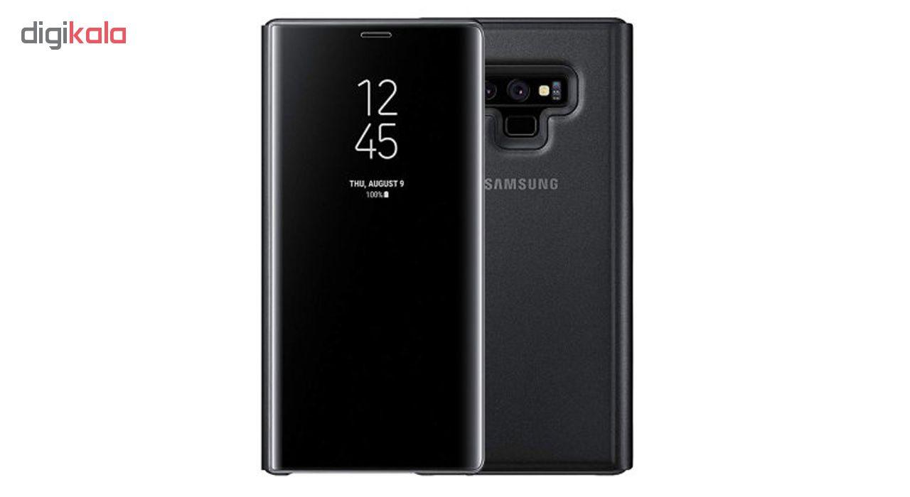 خرید اینترنتی کیف کلاسوری سامسونگ مدل Clear View Standing مناسب برای گوشی موبایل Galaxy Note 9 اورجینال