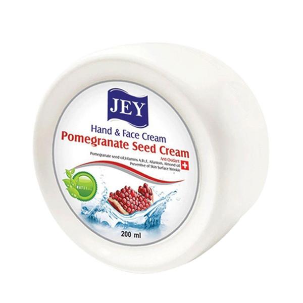 کرم نرم کننده جی مدل pomegranate seed cream حجم 200 میلی لیتر