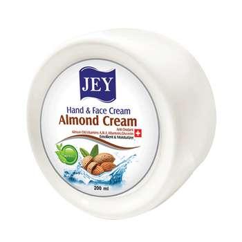 کرم مرطوب کننده جی مدل Almond cream حجم 200 میلی لیتر