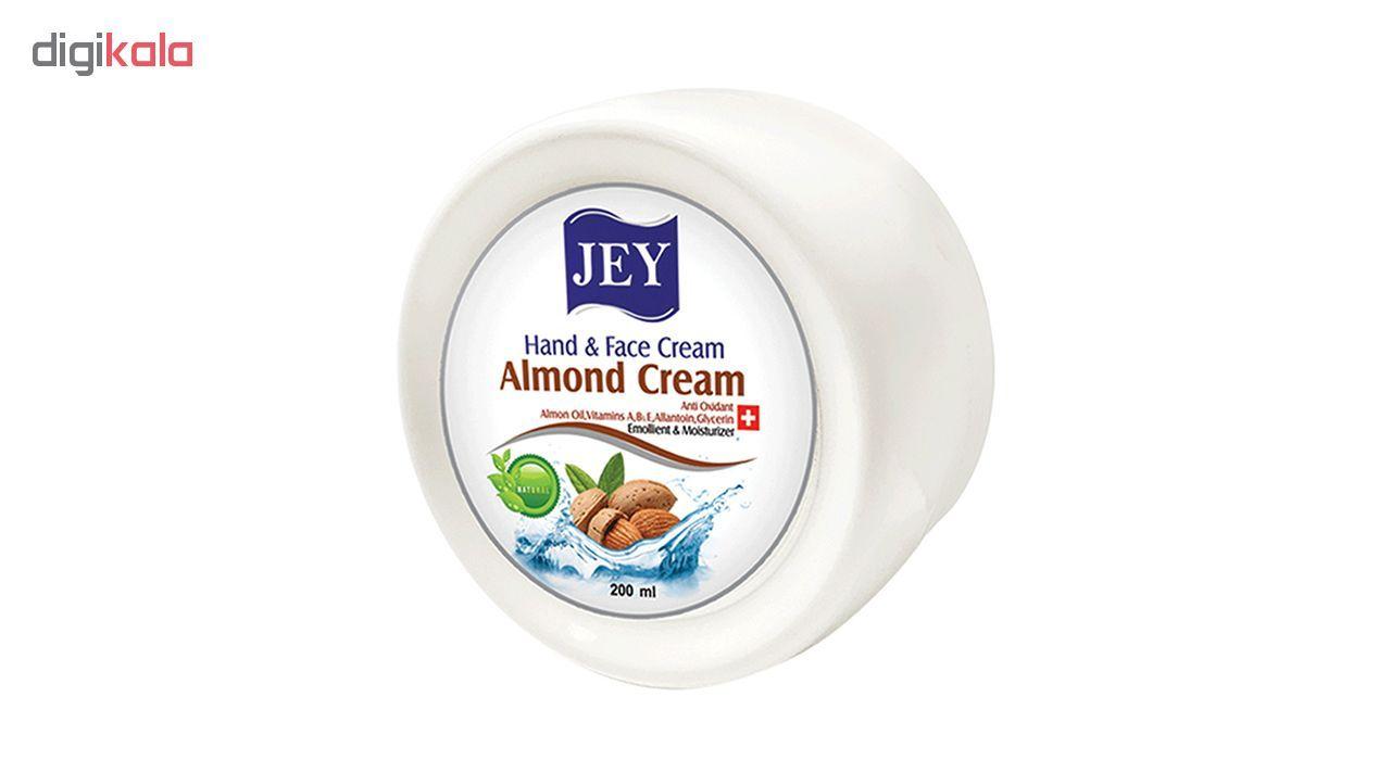 کرم مرطوب کننده جی مدل Almond cream حجم 200 میلی لیتر main 1 1