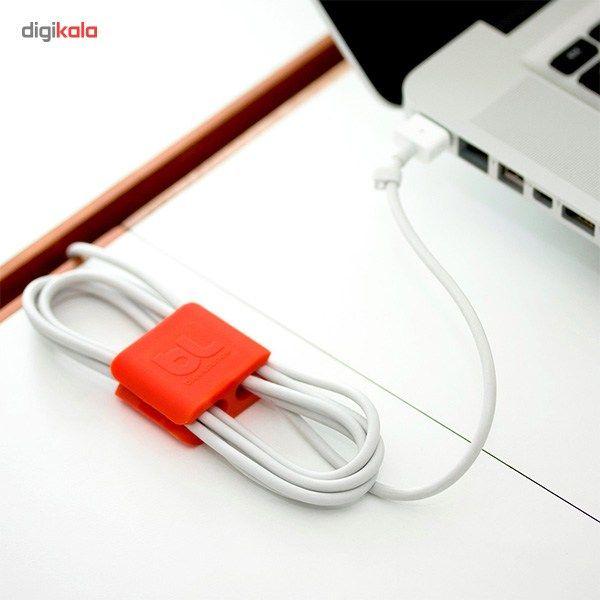 نگهدارنده کابل بلولانژ مدل Cableclip Medium بسته 4 عددی main 1 5