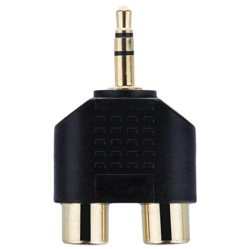 تبدیل یک به دو RCA به جک 3.5 میلی متری دایو مدل HQP کد MA81