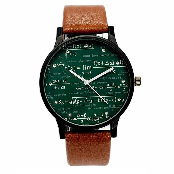 ساعت مچی عقربه ای میلر مدل فرمول ریاضی رادیکال
