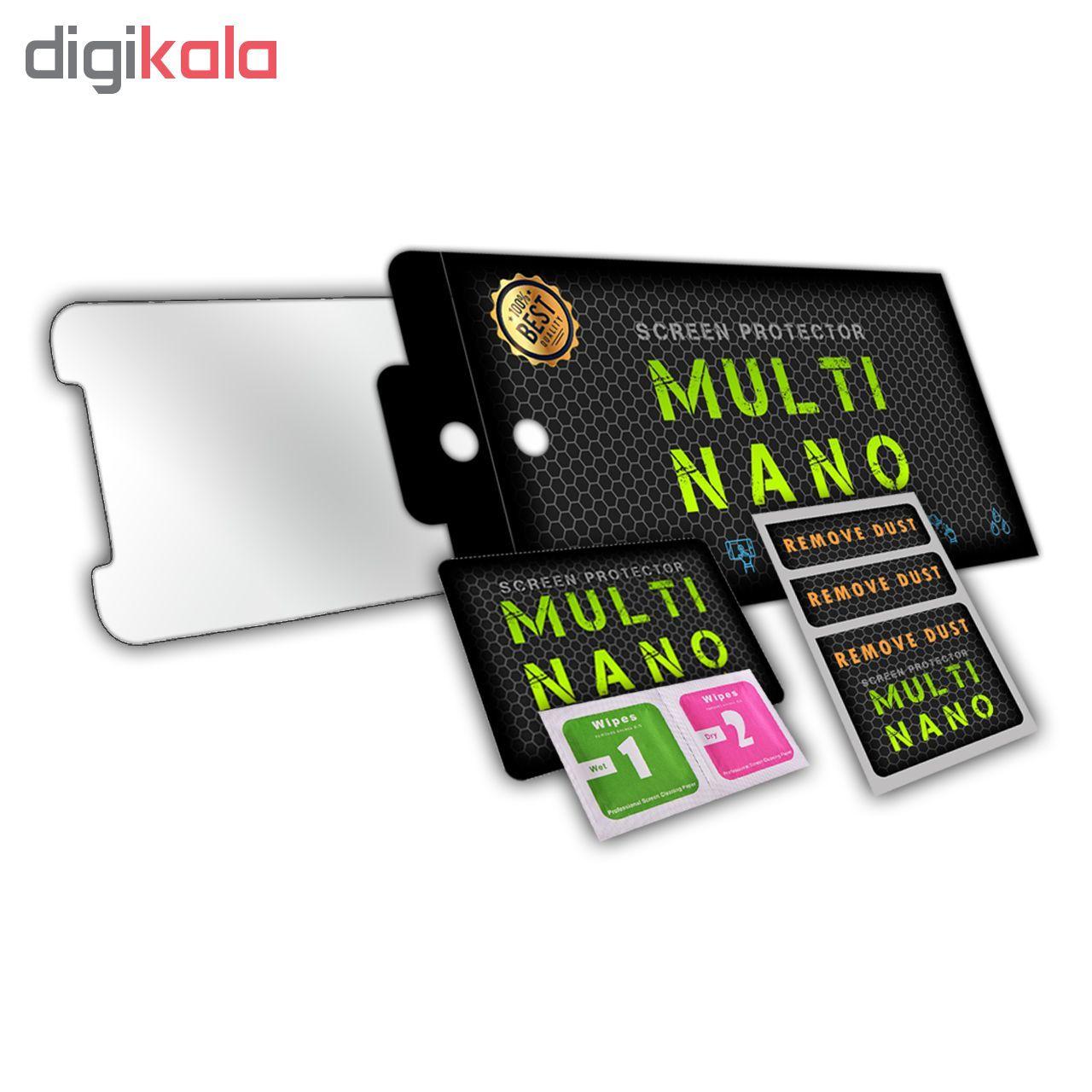 محافظ پشت گوشی مولتی نانو شیشه ای مدل Matte مناسب برای گوشی موبایل اپل iPhone 6 Plus / 6S Plus main 1 3