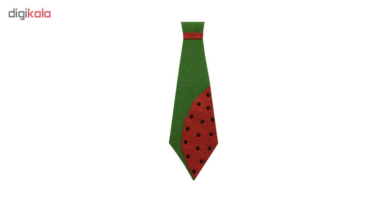 کراوات طرح شب یلدا مدل STY103