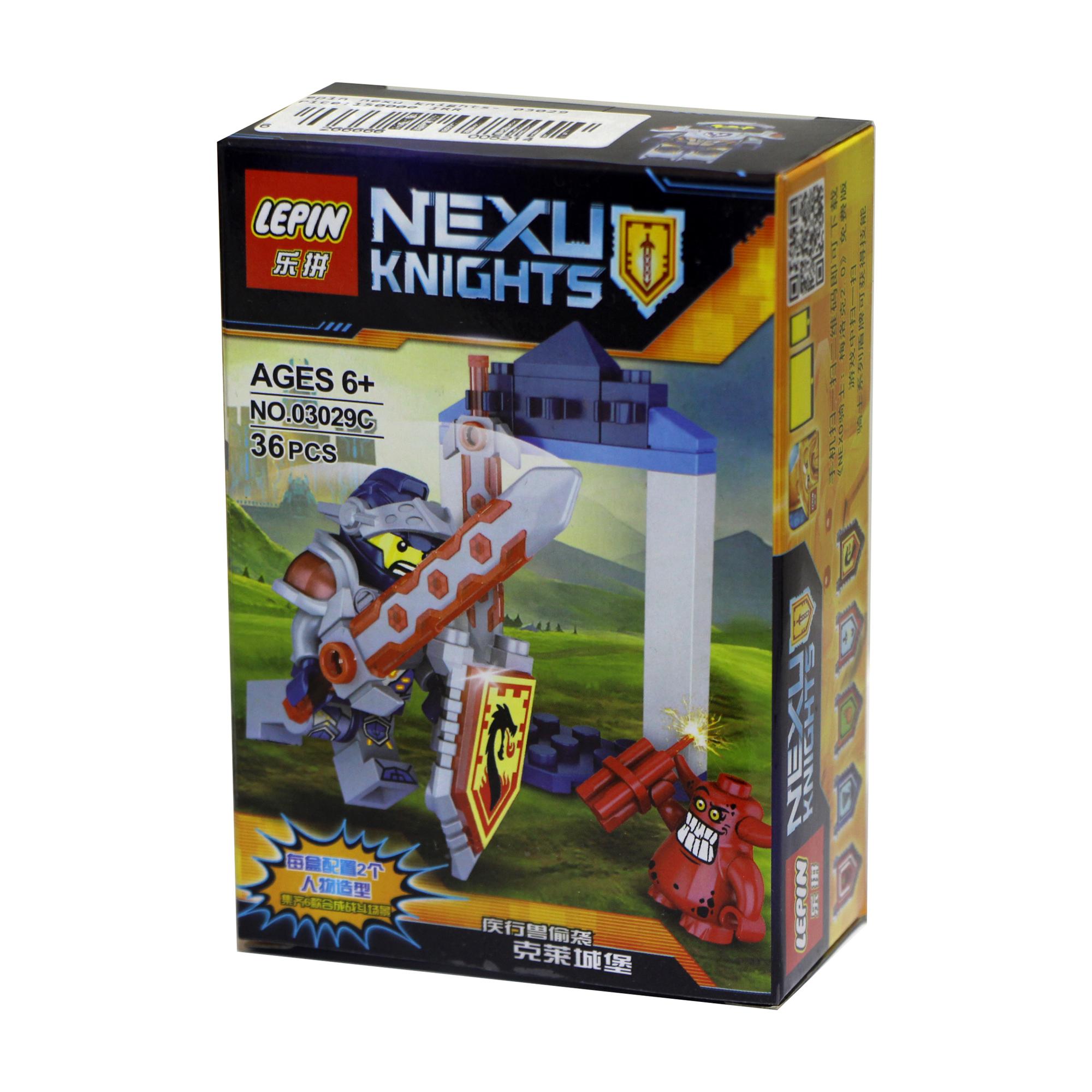 ساختنی لپین مدل Nexu Knights 03029C
