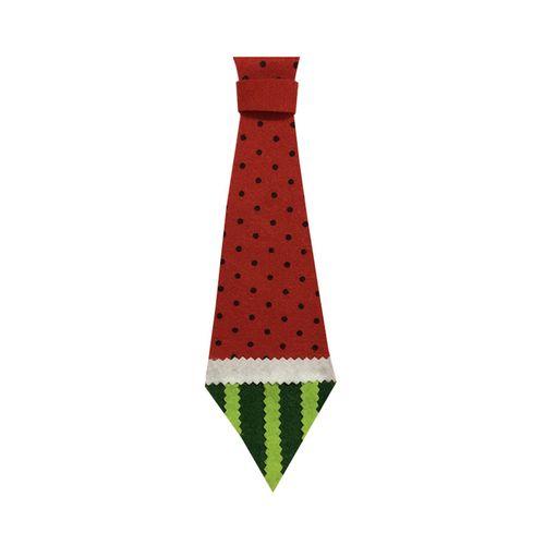 کراوات طرح هندوانه شب یلدا مدل STY105