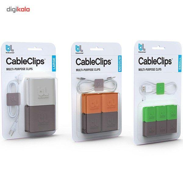 نگهدارنده کابل بلولانژ مدل Cableclip Medium بسته 4 عددی main 1 8