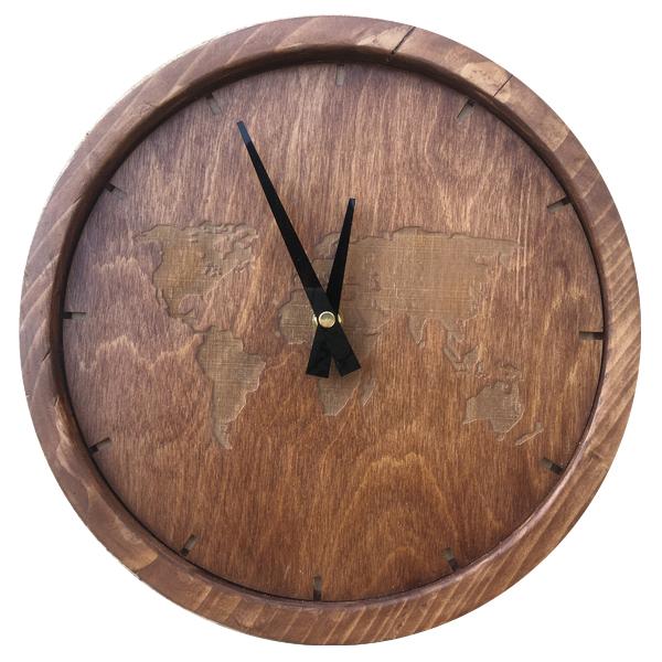 ساعت دیواری چوبی کد 7