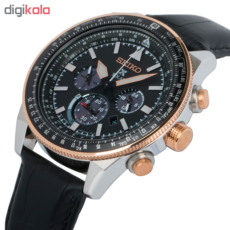 خرید ساعت مچی عقربه ای مردانه سیکو مدل SSC611P1