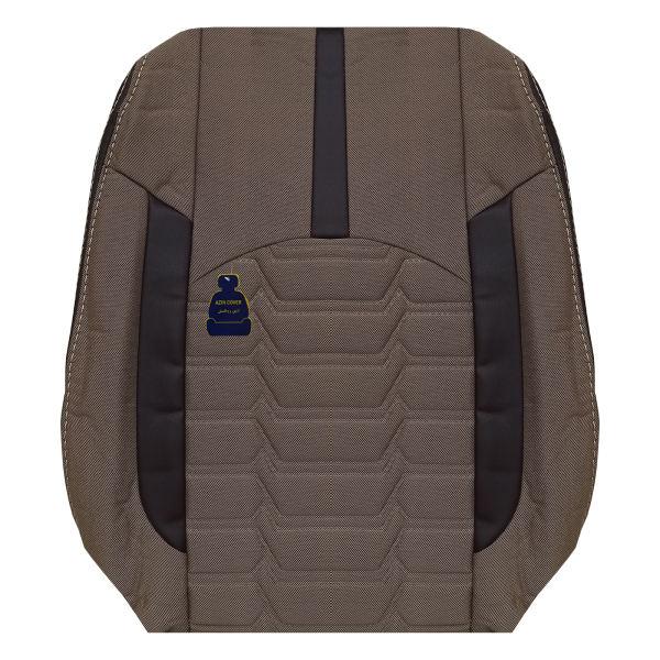 روکش صندلی خودرو آذین روکش مدل AZ224 مناسب برای سمند