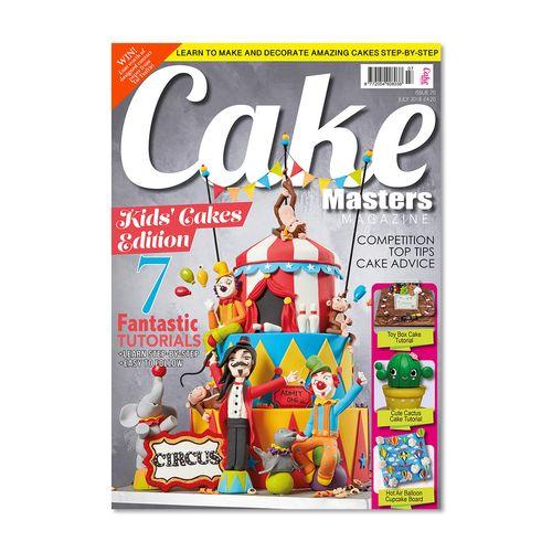مجله کیک مسترز - جولای 2018