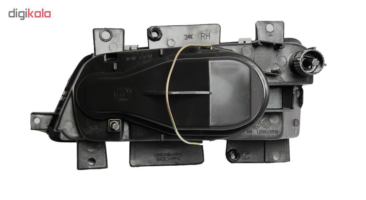 چراغ جلو راست خودرو فن آوران پرتو الوندمدل PLF307 مناسب برای پژو 405 main 1 1