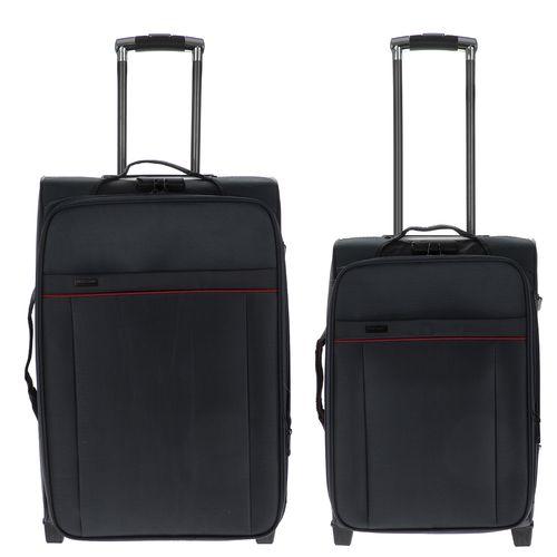 مجموعه دو عددی چمدان پیر کاردین کد 001
