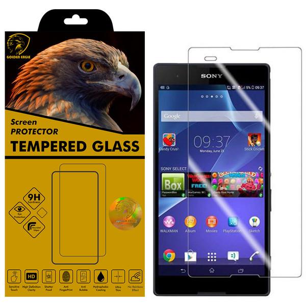 محافظ صفحه نمایش گلدن ایگل مدل GLC-X1 مناسب برای گوشی موبایل سونی Xperia T2 Ultra