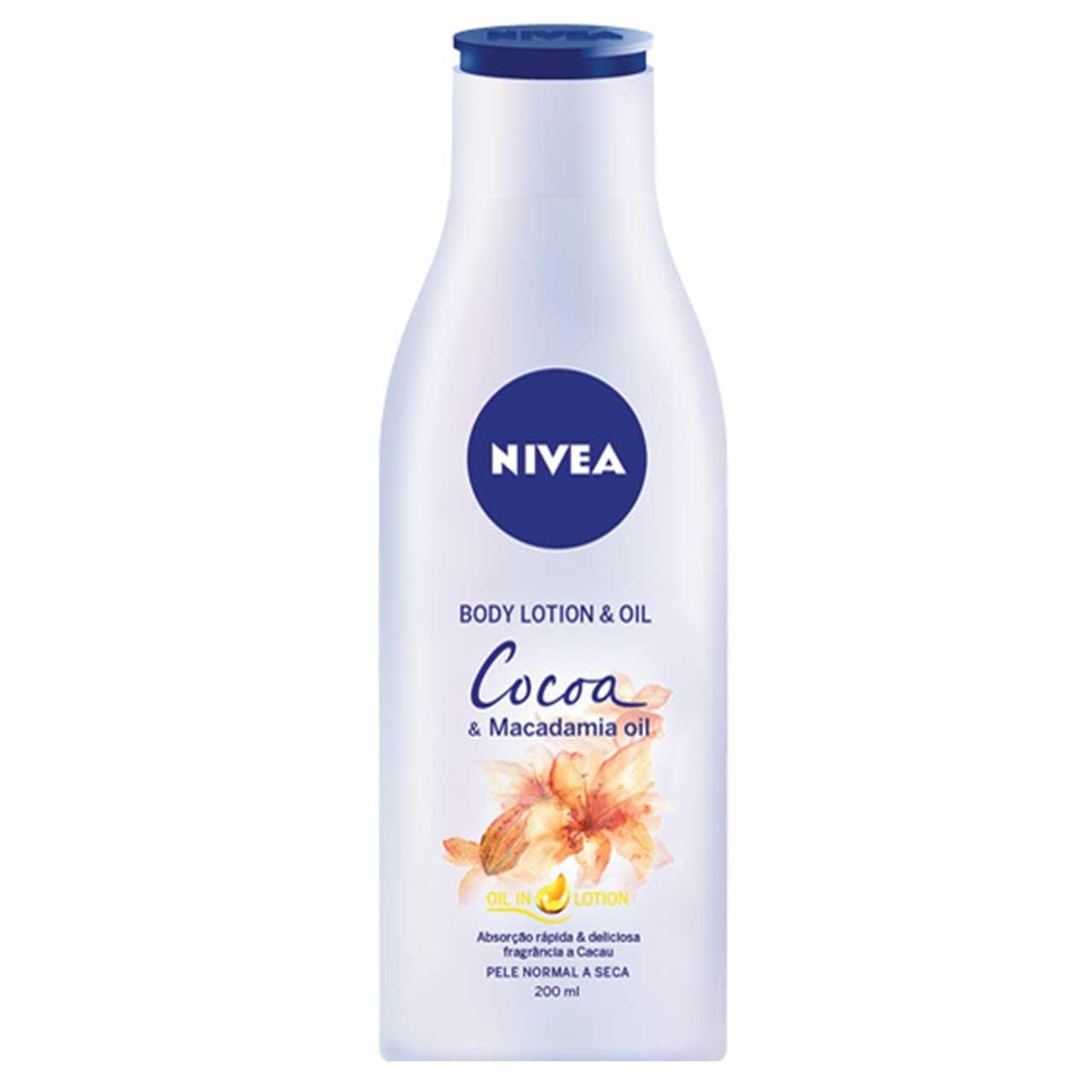 لوسیون بدن نیوآ مدل Cocoa حجم 200 میلی لیتر
