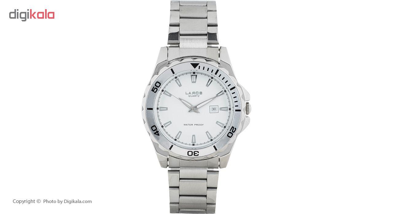 خرید ساعت مچی عقربه ای مردانه لاروس مدل No 0617-79575 B
