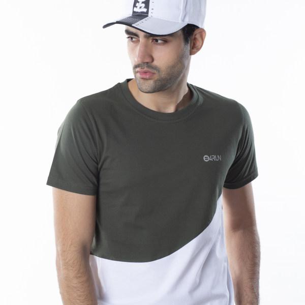 تی شرت ورزشی مردانه بی فور ران مدل 210314-4301