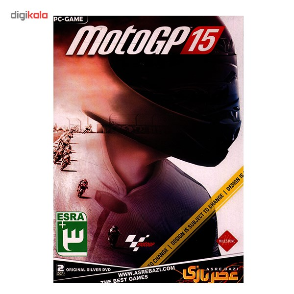 خرید اینترنتی بازی کامپیوتری MotoGP 15 اورجینال