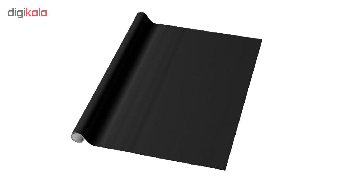 روکش وایت برد سیاه مدل آنتی رفلکس نانو سایز  122×120 سانتی متر