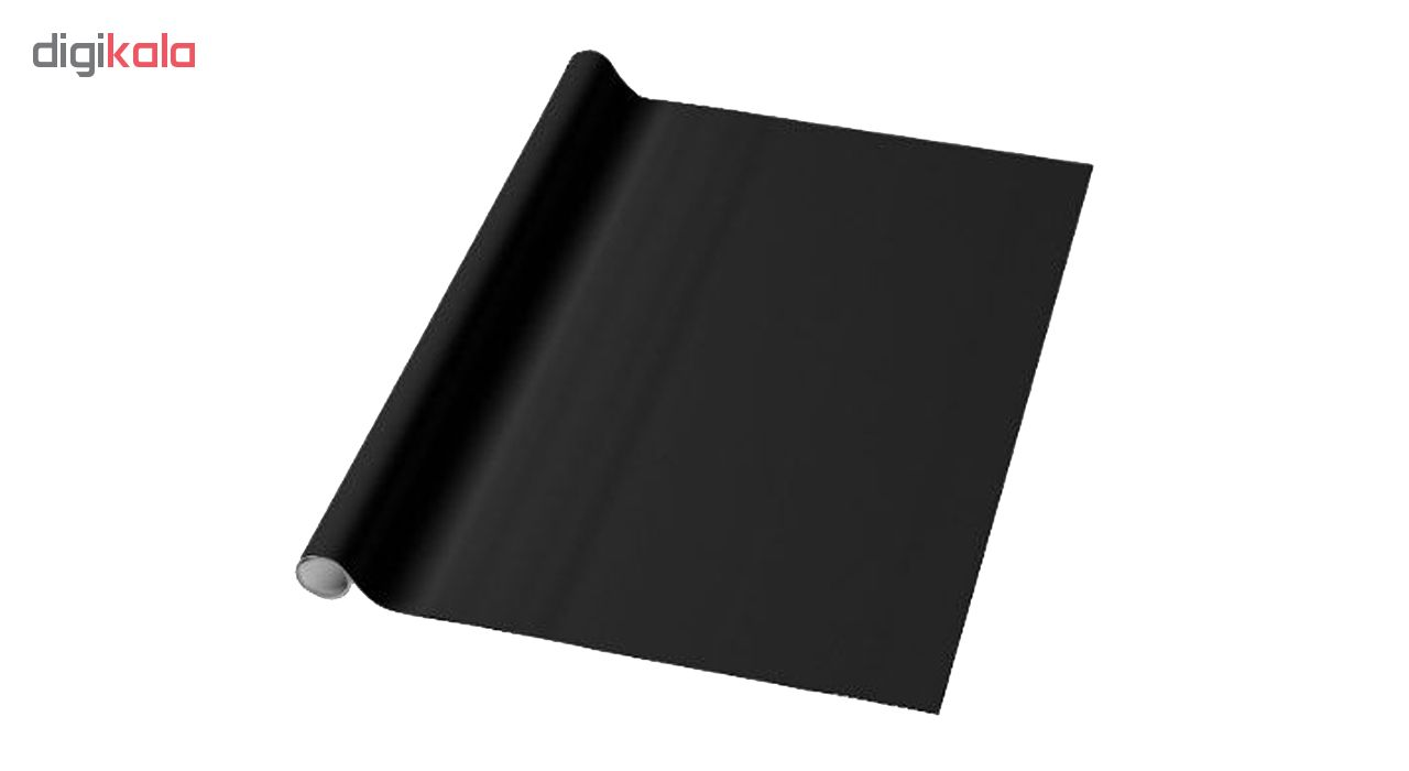 روکش وایت برد سیاه مدل آنتی رفلکس نانو سایز  122×140 سانتی متر