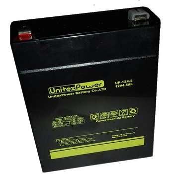 باتری 12 ولت 4.5 آمپر یونیتکس مدل UP-124.5  